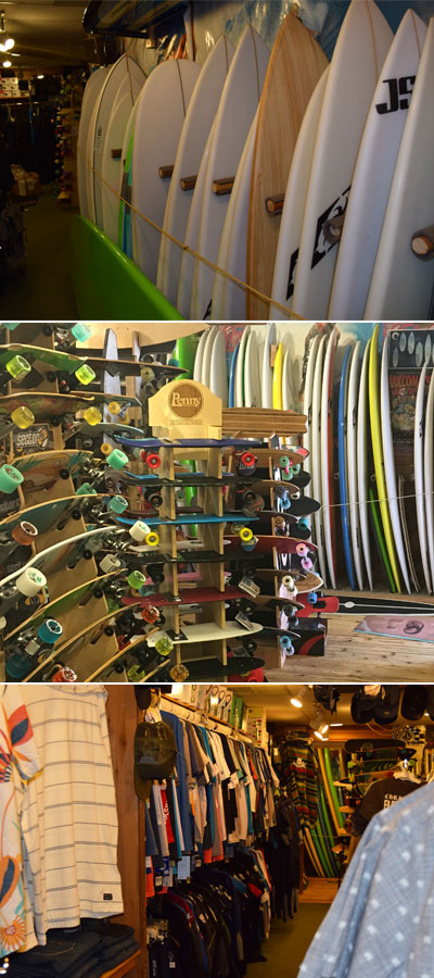 Suncatcher Surf Shop Surfboards